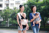 Wholesale baby carries infant slingx decompression strap can adjust the size baby sling legs are not involved with the pad can be back or frount