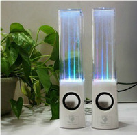 2.1 Universal MP3 Speaker Dancing Water Fountain Speaker LED Light Mini Speaker for iphone Tablet PC MP3 MP4