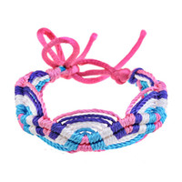 Beaded, Strands   multi-color Chinese Style Handmake Braided Colorful Thread Bracelet 2013 jewelry for women