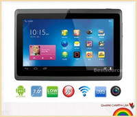 Wholesale Tablet PC inch black white Q88 black white Q88 Capacitive Screen Allwinner A13 GHz Android MB DDR3 GB WiFi Camera
