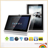 Wholesale Tablet PC black white Q88 inch black white Tablet PC Q88 Capacitive Screen Allwinner A13 GHz Android MB DDR3 GB WiFi Camera