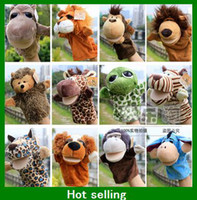 Wholesale Nici Forest Animal Hand Puppets Cute Plush Toys Children Story Props Kids Dolls Baby Gifts