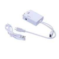 Wholesale MHL Micro USB to VGA Audio Adapter for Samsung Galaxy Note GT N7100 S3 i9300 C404
