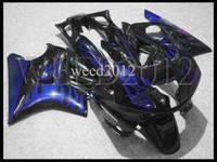 Comression Mold For Honda CBR600 F3 ABS Plastic black blue CBR600F3 9194 91 92 93 94 ABS Fairings Body Kit Fairing for Honda CBR600 CBR 600 F3 1991 1992 1993 1994 Bodywork Set