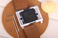 Wholesale Hot New Arrivals New Fashion Lunatik Chicago Collection Real Leather Watch Band Strap For Apple ipod Ipod Nano6