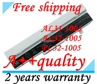 Wholesale 2013 New New laptop battery For Asus Eee PC Eee PC HA HGO AL31 AL32 PL32 B20 KC0AS OA001B9000