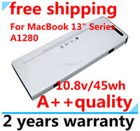 "Apple NI-MH 4 2013 New New Laptop battery replacement for Apple MacBook 13"" A1278 ,MB466* A MB466CH A A1280 ,Free shipping"