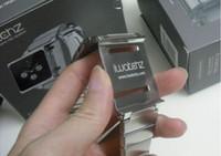 Wholesale New Arrvial DHL For Ipod ipod Nano Elemental Aluminum Kits Band Wrist Strap iwatchz Timepiece Wrist Watch Elemental