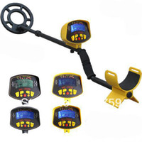Wholesale MD II Ground Searching metal detector Nugget finder Gold detector Treasure Hunter m Detecting Depth H343