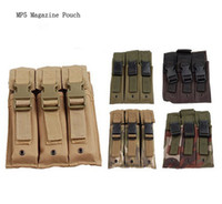 molle - High Quality Nylon Molle MP5 Triple Drop Leg Thigh Mounted Magazine Pouch Mag Bag with Velcro Quick Release Buckles For Airsoft