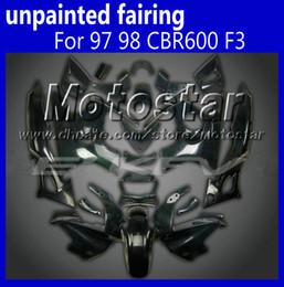 Unpainted body kit for HONDA 1997 1998 CBR600 F3 fairing kits 97 98 CBR 600 F3 CBR 600F3 97 98