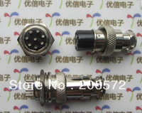 Wholesale 2P P P P P P P aviation plug cable connector A set socket plug mounting hole mm