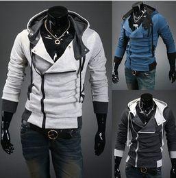 Wholesale Winter Casual Hot Sale Mans Hoodies Slim Cardigan Outwear With Zipper Coat Cotton Colors Size M L XL XXL