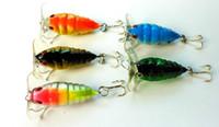 Hard Baits bait c - Cicada hard Fishing lure Insect fishing tackle Crankbait Lure Bait CM G hooks colors by c