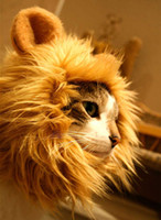 Wholesale Amusing Lion s Mane Cat Hat Stuffed amp Plush Toy Lion s Mane Hat For Cats Dogs