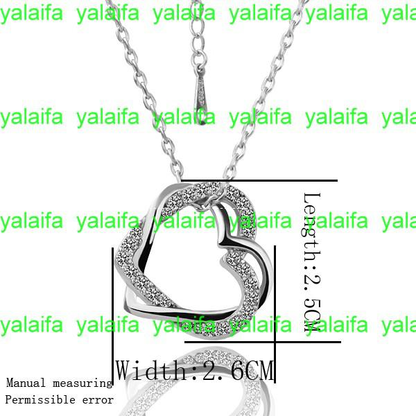Buy variety styles, free mix,1 18 k gold plated,Rhinestone Crystal inlay pendant Necklaces, fashion jewelry,LKN18KRGPN006