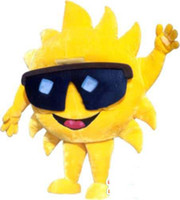 Wholesale Hot New Custom made customized sun mascot Costume
