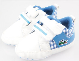 Wholesale 30 off COLOR WHOLESAE Winter New Blue plaid velcro baby soft shoes shop shoes online kid shoes cheap pair ZH