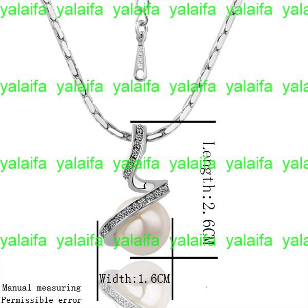 Buy variety styles, free mix,1 18 k gold plated,Rhinestone Crystal inlay pendant Necklaces, fashion jewelry,LKN18KRGPN014