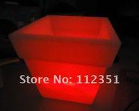 Wholesale 20pcs Color changing LED flower pot lighting flower pot