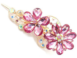 charming jewelry rhinestone Duck Clip Banana Clips Hair Barrette Hairpin clasps accessory mixed #3013