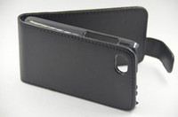 blackberry q5 - Black Synthetic PU Flip Hard Leather Case For Blackberry Q5 without retail package