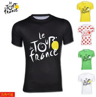 Tops Breathable Men 2013 New Arrival Tour de france Cycling Bicycle Bike Jersey t shirt polo shirt