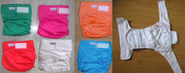 Wholesale 6 color sizes choices wash waterproof Adult cloth diaper Nappy nappies diaper diapers nappies insert