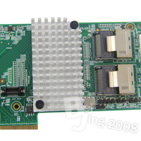 Wholesale Internal Low Power LSI MegaRAID RAID Controller Card SingleSATA SAS i Gb s PCI Express MB onboard memory