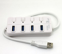 Wholesale USB Port USB HUB with LED Indication Switch Super Speed Gbps AAA Quality