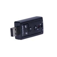 Wholesale USB External Channel D Virtual Audio Sound Card Adapter PC C405