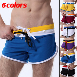 Wholesale Men s Mesh Quick Drying Soft Running Sports Loose Trunks Home Shorts Multicolor WJ Size S M L XL With Tracking Number