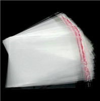 Jewelry Pouches,Bags self adhesive bags - MIC Clear Self Adhesive Seal Plastic Bags x9cm Jewelry Packaging Display Jewelry Pouches Bags