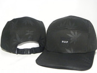Wholesale Hats Supplier Black Leaf HUF Snapback hats strapback caps Huf hats Various styles mix order team hats basketaball snapbacks mix order