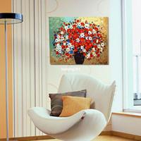 Wholesale Digital oil painting diy oil painting flower lovers marriage decorative painting