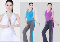 Wholesale lady fitness wear woman summer yoga suit woman yoga clothes