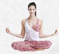 Wholesale new design yoga suit yoga shirt yoga pants fitness wear sports wear for summer