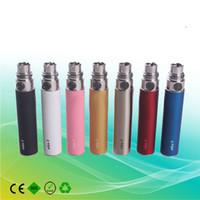 Wholesale 2014 NEWEST ego t colorful battery ego color battery mah Electronic Cigarette e cig e cigarette colors