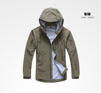 Camping & Hiking nylon windbreaker jacket - Top Quality TAD GEAR SPECTRE HARDSHELL Jacket Outdoor Military Tactical Waterproof Windproof tech Jackets color