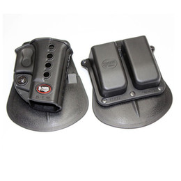 Fobus Evolution Holster RH Paddle GL-2 ND Pour G 17/19/22/23/31/32/34/35 6900RP Double Mag Pouch G 9 40, HK 940