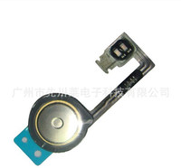 Wholesale Home Button Flex Cable Ribbon Repair Part for iphone G S GS
