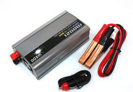 New 1200W 12V DC to 220V AC Car Power Inverter with USB Port