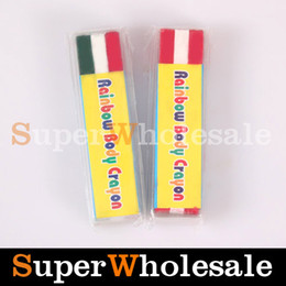 Wholesale Single Face amp Body Paint Painting Make Up Rainbow Body Crayon