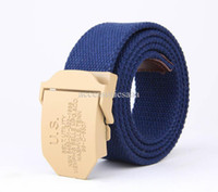 Wholesale Sport Man Fashion Belt Canvas Waistband Designer Branded