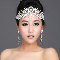Wholesale Stunning Swarovski crystals Bridal Crystal Tiara Wedding Crown Hair Accessories