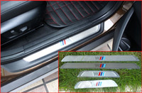 Wholesale Car auto accessories door sill scuff plate Door sill for BMW X5 X6 X1 per set