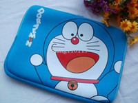 Wholesale Cat Doraemon Cosmos Blue Neoprene Zipper Cotton inch Laptop Notebook Computer Case Bag Sleeve For macbook pro air quot