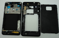 Wholesale 100 Original Samsung galaxy s2 i9100 full housing cover case with buttons replacement Tools