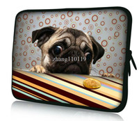 "15'' Sleeve Neoprene Free shipping Pug 13"" Laptop Sleeve Case Bag Pouch For 13.3"" Apple MacBook Pro,Air,HP Folio,Waterproof,Shockproof H13-1252"
