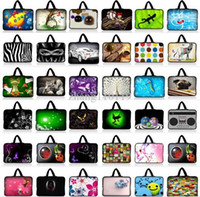 Wholesale Universal Laptop Notebook Soft Sleeve Bag Case Cover Hide Handle For quot HP Pavilion Sony VAIO Dell XPS